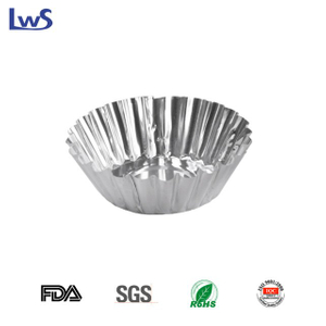 Disposable Tin Foil Egg Tart Cup LWS-TRF58