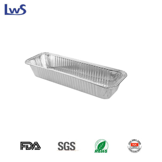 Aluminium foil food containers LWS-RE308