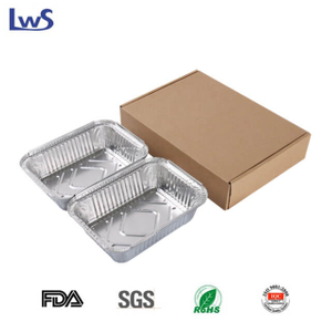 NO. 3 Mix take out aluminum foil container