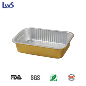 LWS-REC220 Coated smoothwall aluminum foil container