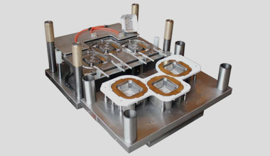 Multiple use and maintenance of aluminum foil mould