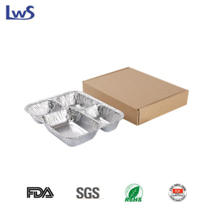 4C240 SET Take out aluminum foil container